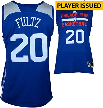 Markelle Fultz Philadelphia 76ers Player-Issued  20 Reversible Jersey from  the 2017 NBA Summer f5e8a7cb0