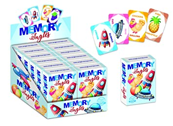 Angel Europa Baraja Infantil Memory inglés: Amazon.es ...