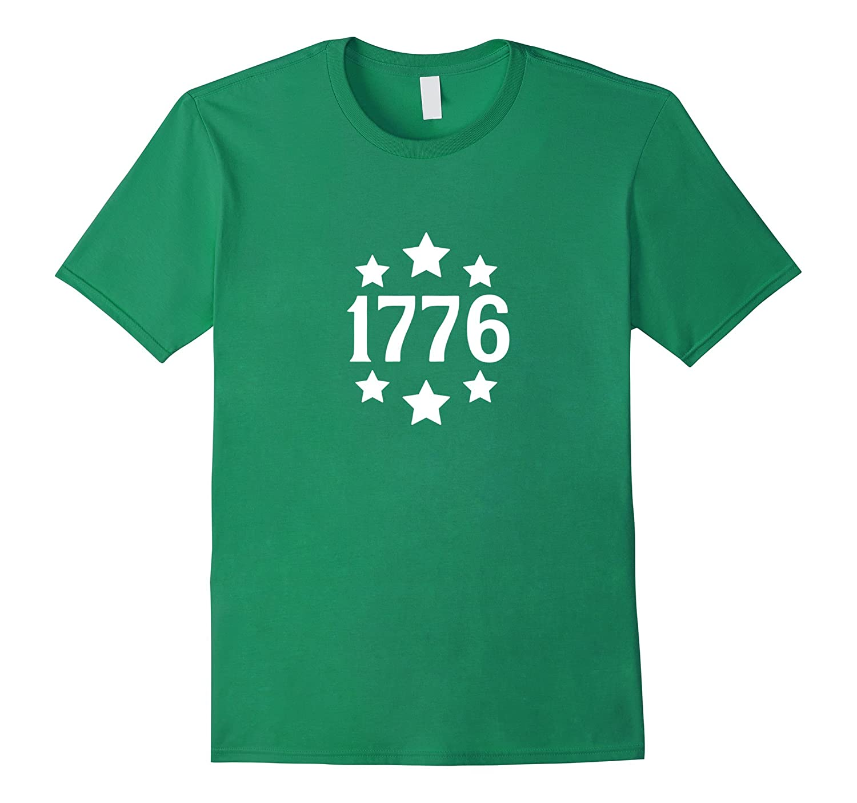1776 Patriotic Fourth Of July Proud American Patriot T-Shirt-Vaci