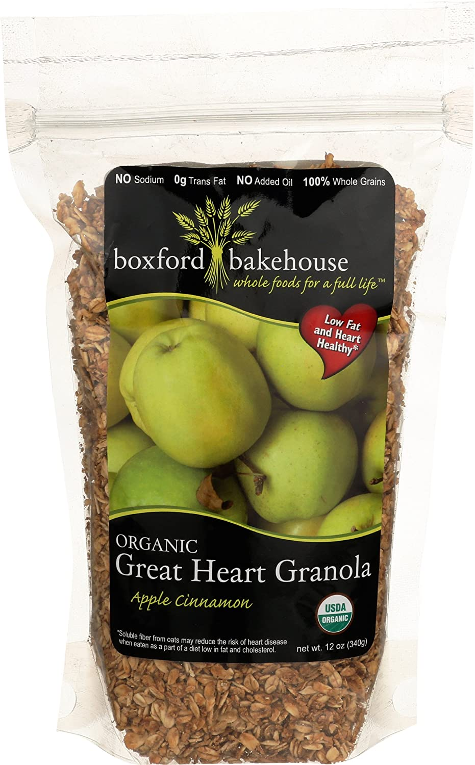Boxford Bakehouse, Granola Cinnamon Apple, 12 Ounce