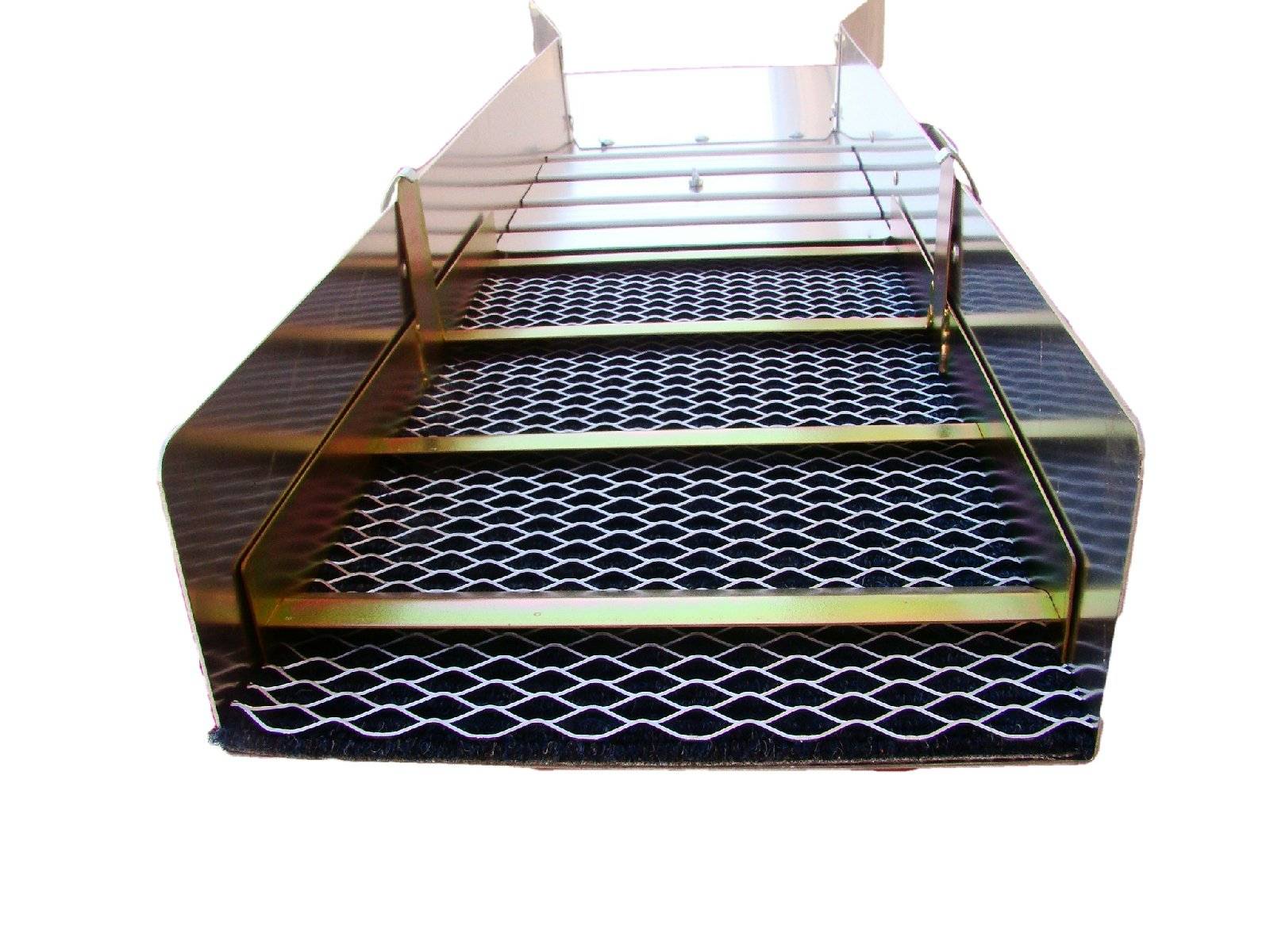 50'' Long Drop Riffle Sluice Box-17'' Wide Flair-With Handle Gold Mining Prospecting by Make Your Own Gold Bars (Image #5)