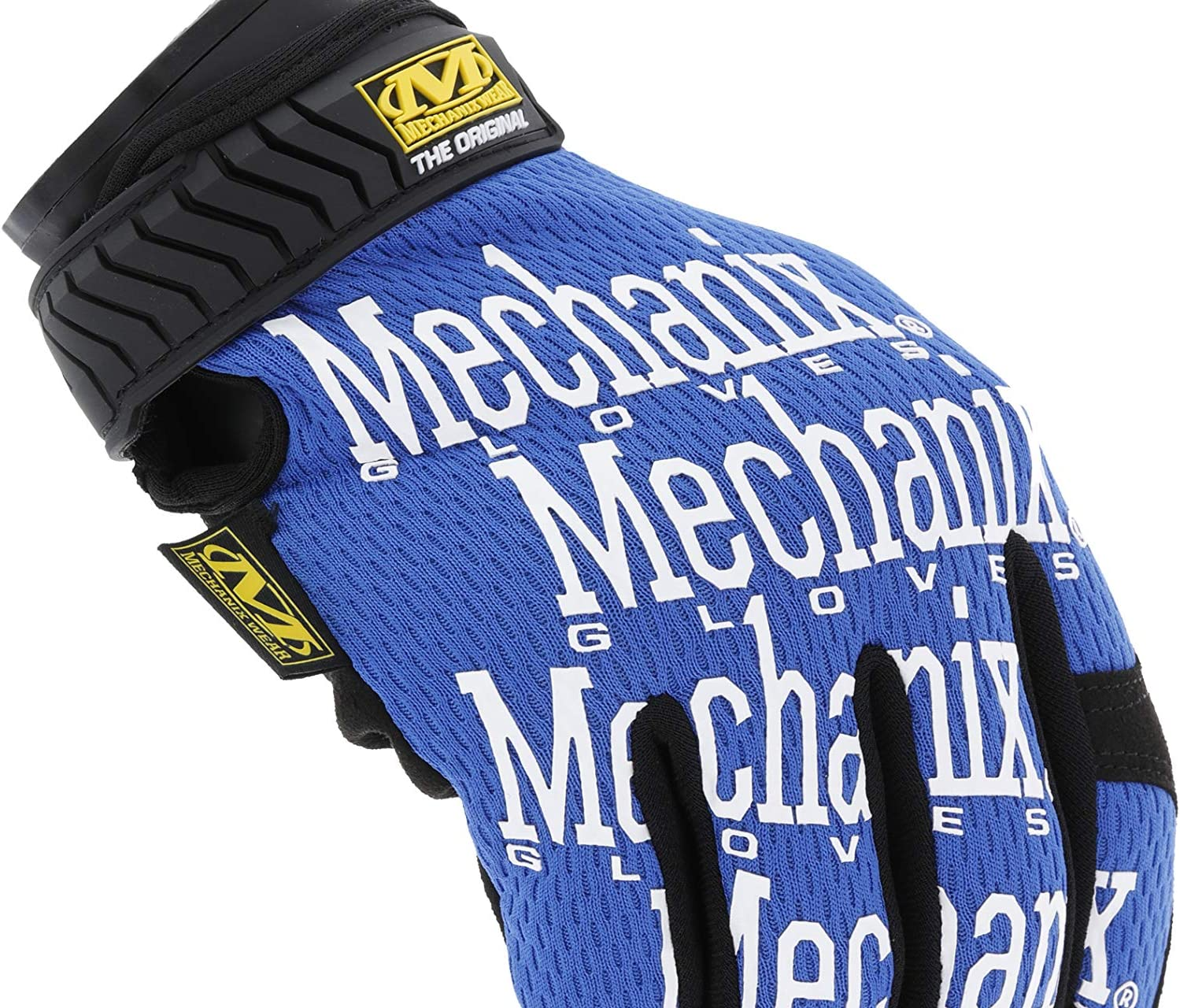 Medio, Azul Guantes Originales Mechanix Wear