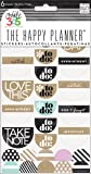"""me & my BIG ideas Create 365 The Happy Planner Neutral """"To Do"""" Stickers, 6 Sheets"""