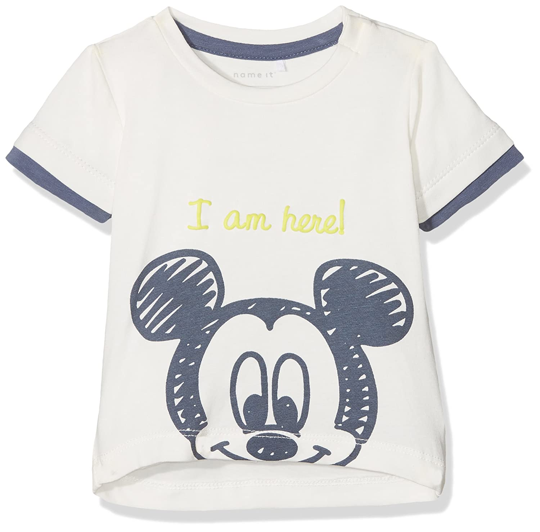 Name It Nbmmickey Otto SS Top Wdi T-Shirt Bimbo