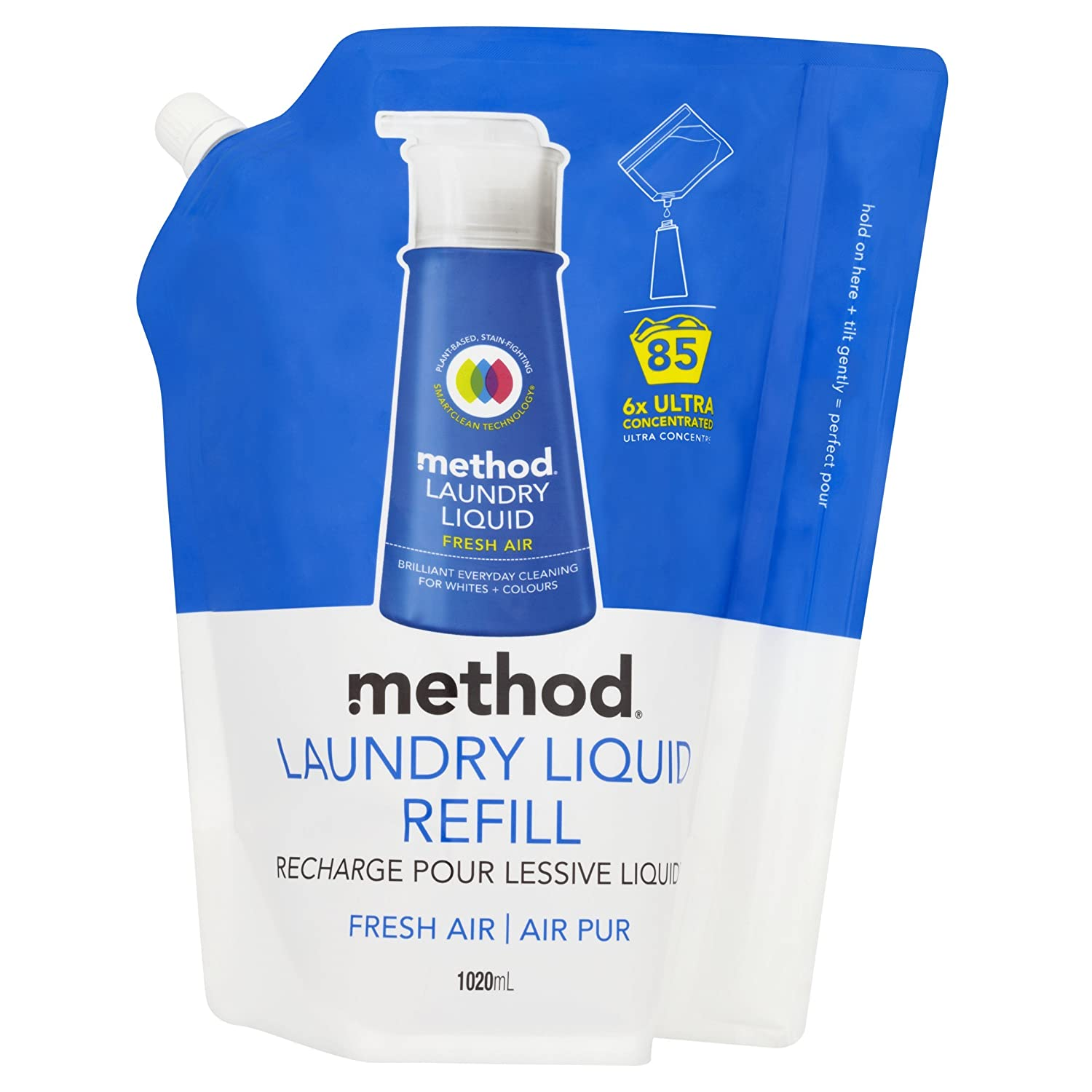 Method | Laundry Detergent Fresh Air | 1 x 1020ml