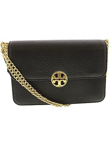 a580b79ce Tory Burch Chelsea Shoulder Bag 48735 (Core Black): Handbags: Amazon.com