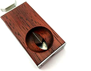 CiGuru CC012 Stainless Steel V-Cut Cigar Cutter