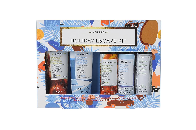 Korres - Holiday Escape Kit, 200 ml: Amazon.es: Belleza