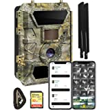 Yellowstone.ai 4G LTE Wireless Cellular Trail Camera with App for Deer Hunting & Security - Pictures & Videos On Any Phone (V