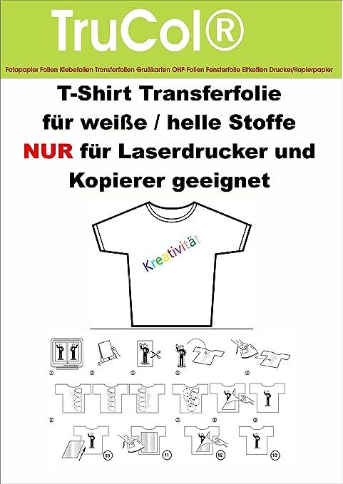 10 Hojas DIN A3 T-Shirt Papel de la película de Transferencia ...