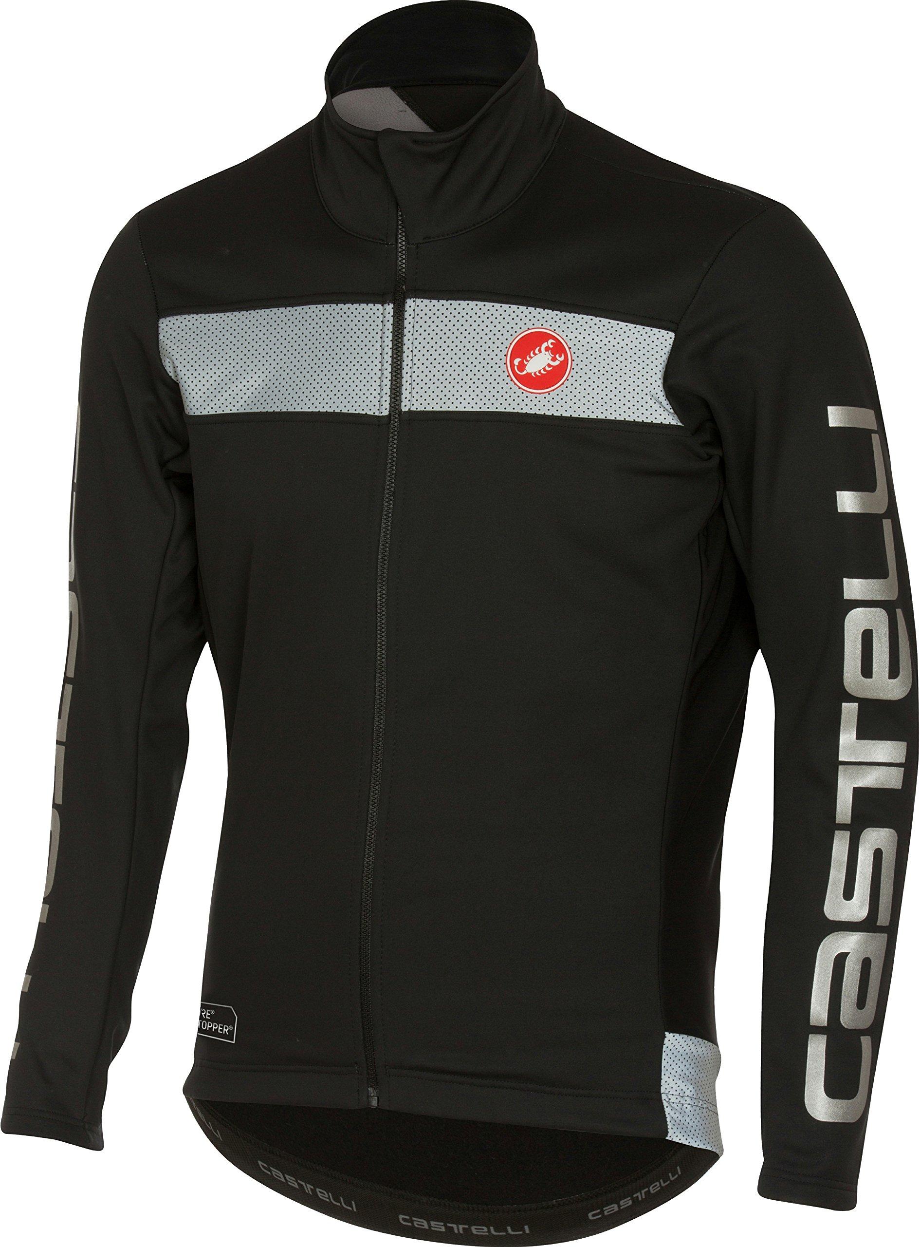Castelli Raddoppia Jacket - Men's Black, XL