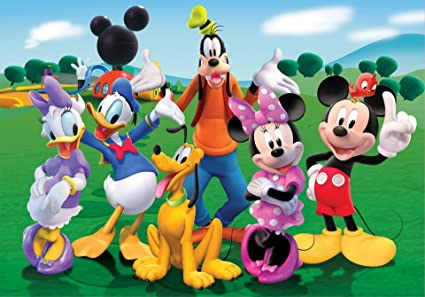 Amazon Com Disney Mickey Mouse Minnie Goofy Donald Daisy Pluto