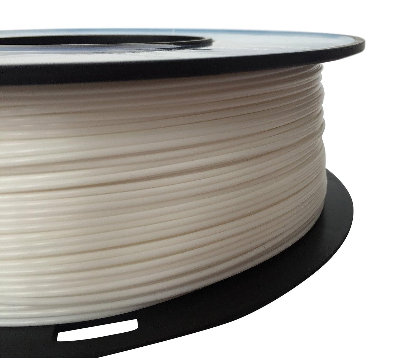 vilarox 3d impresora filamento 1.75 mm HIPS 1 kg, Color blanco ...