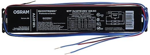 sylvania quicktronic ballast wiring diagram sylvania sylvania 49906 qtp2x32t8 unv isn sc b t8 fluorescent ballast on sylvania quicktronic ballast wiring diagram