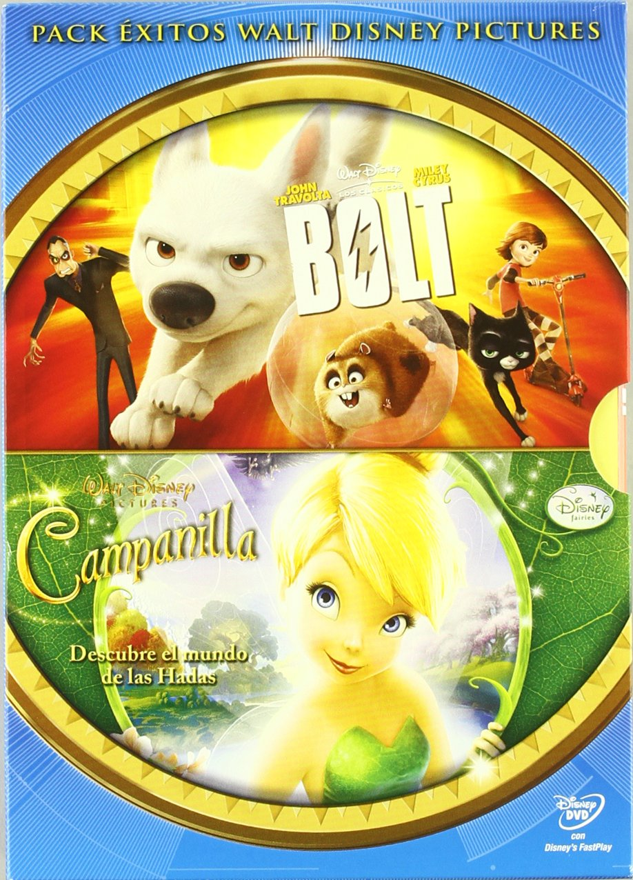 Amazon.com: Pack Bolt + Tinkerbell (Spain - Importation): Varios: Movies & TV