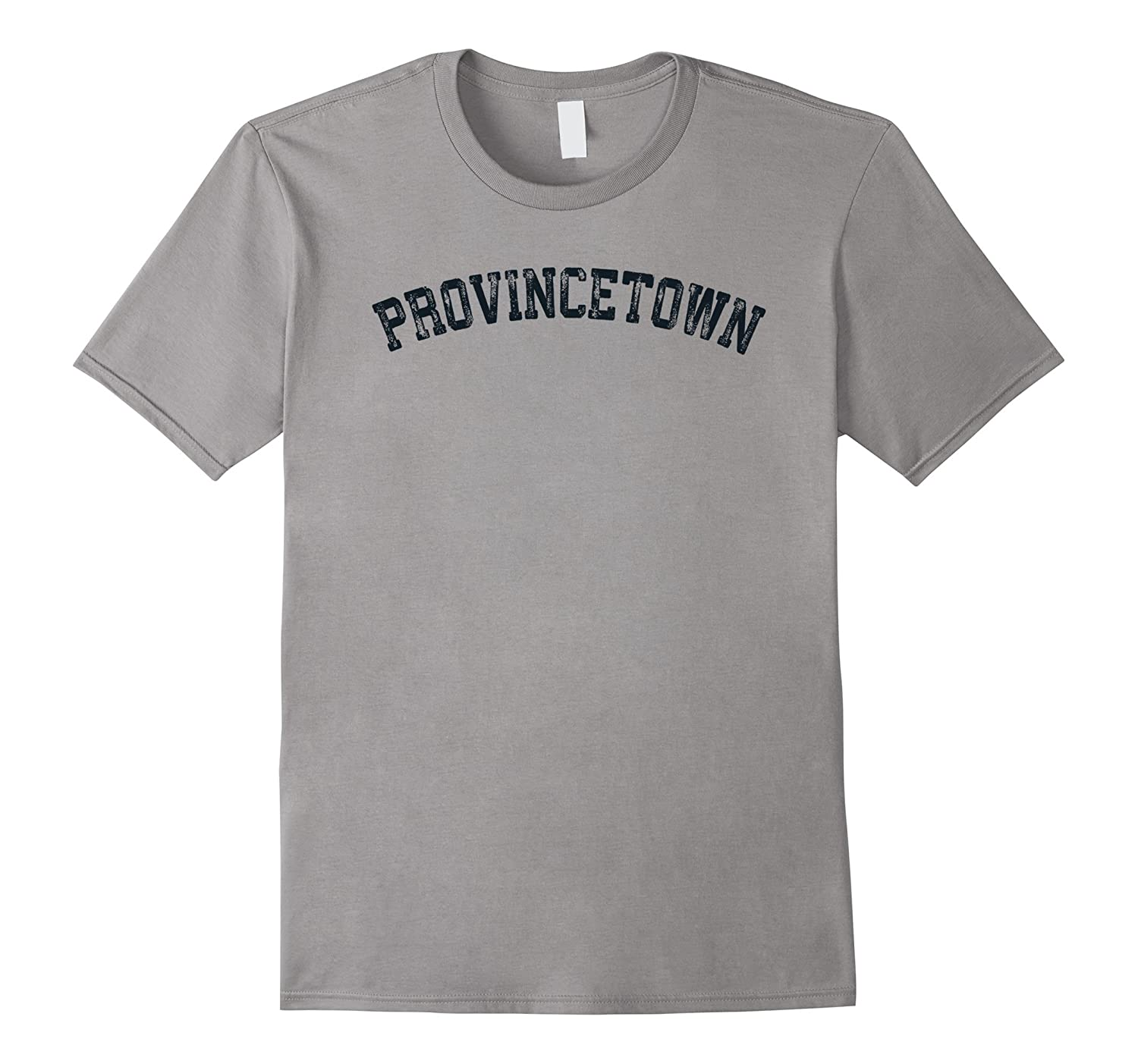 Vintage Provincetown T Shirt Distressed Old Retro Sports Tee-TH