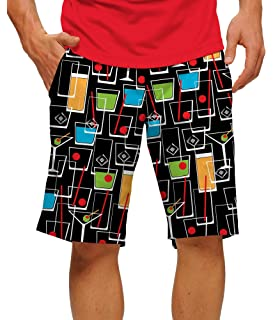 f13fc811c Loudmouth Golf-StretchTech Poly-John Daly Fun Father s Day Colorful  Cocktail Happy Hour Men s