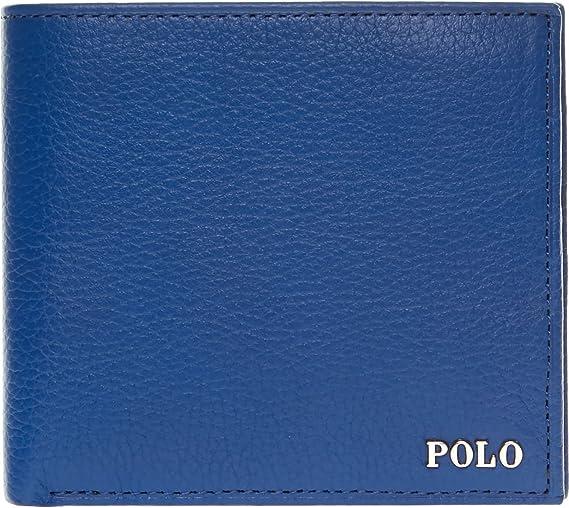 Polo Ralph Lauren - Cartera para Hombre Azul Azul: Amazon.es: Equipaje