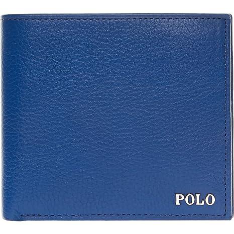 Polo Ralph Lauren - Cartera para Hombre Azul Azul