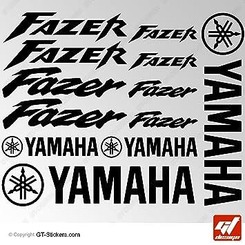 Aufkleber Yamaha Fazer Schwarz Brett 16 Sticker