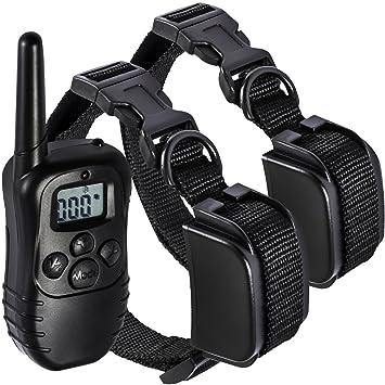 Amazon. Com: dog training collar, 1000 foot waterproof.