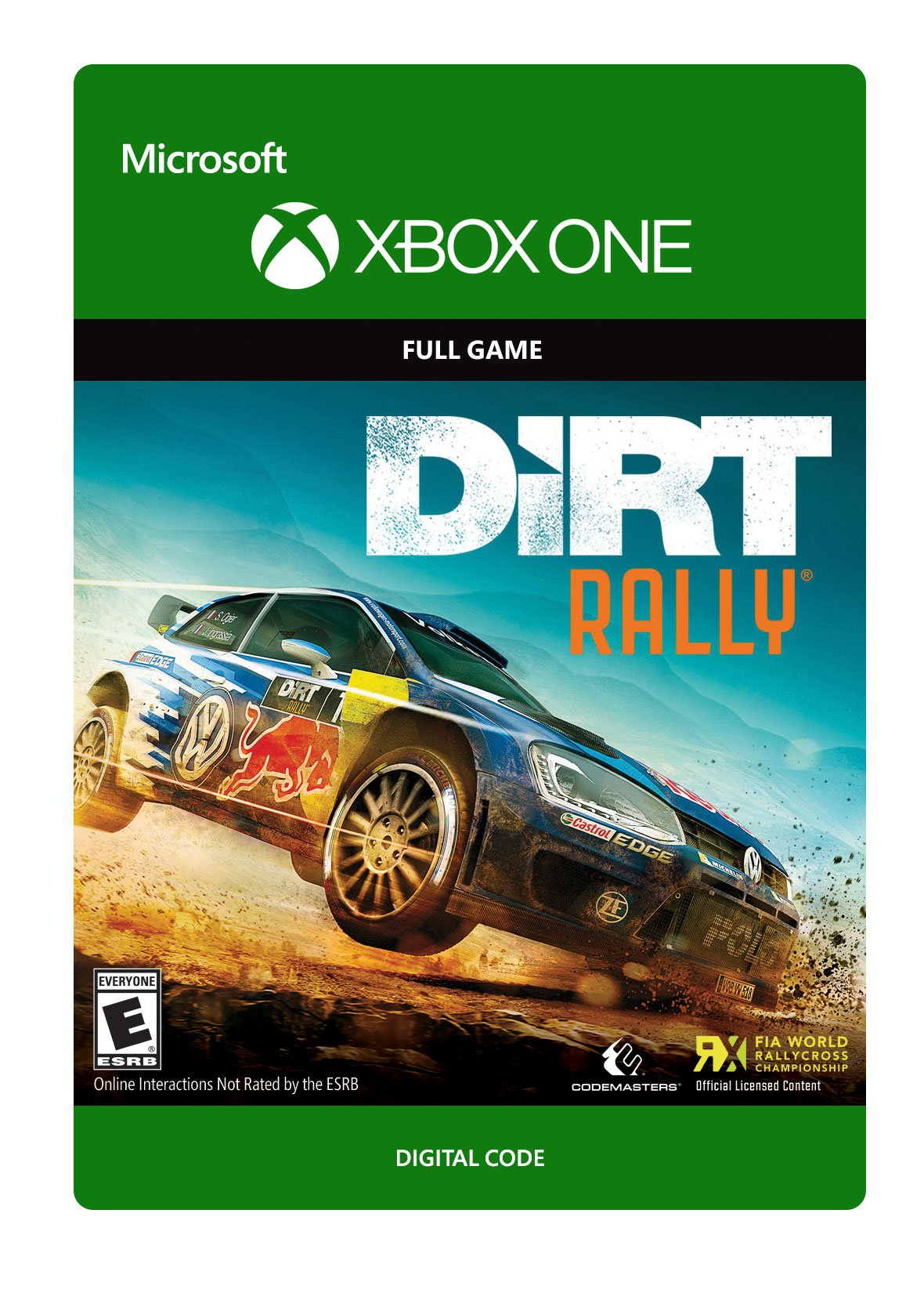DiRT Rally - Xbox One Digital Code