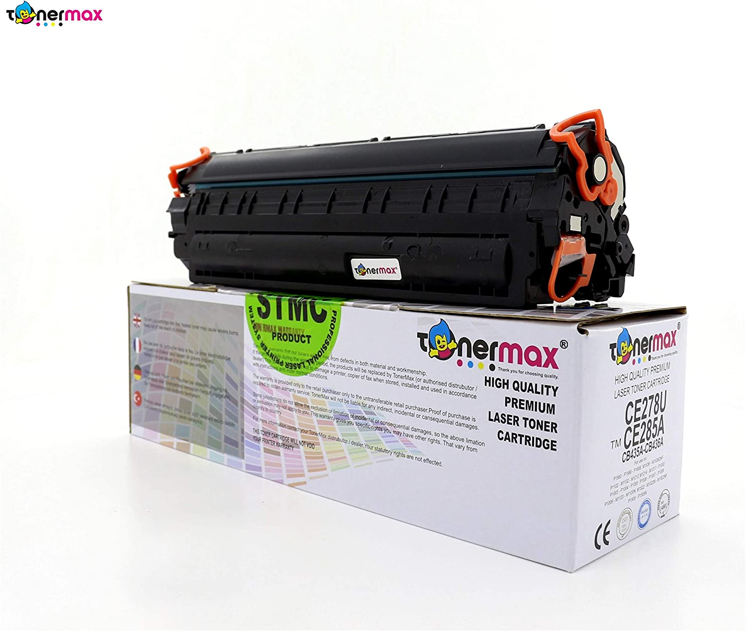 Compatible//Remanufactured Toner Cartridge For LaserJet M1132 85A M1217nfW P1102W 2 Pack 2 Pack 2inkjet CE285A M1212nf P1102
