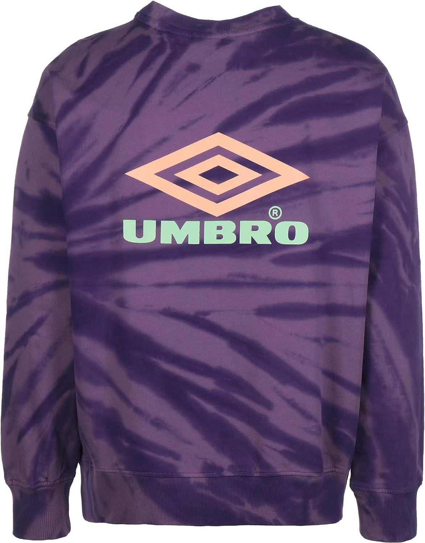 UMBRO Calidoscope Sweatshirt Herren lila / neonorange