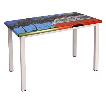Couleurs Jardins Farben Gärten Tisch Büro Fun, 4 Füße ...