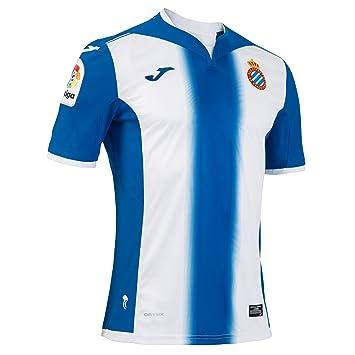 Joma 1ª Equipación Espanyol 2016/2017 - Camiseta Oficial: Amazon.es: Deportes y aire libre
