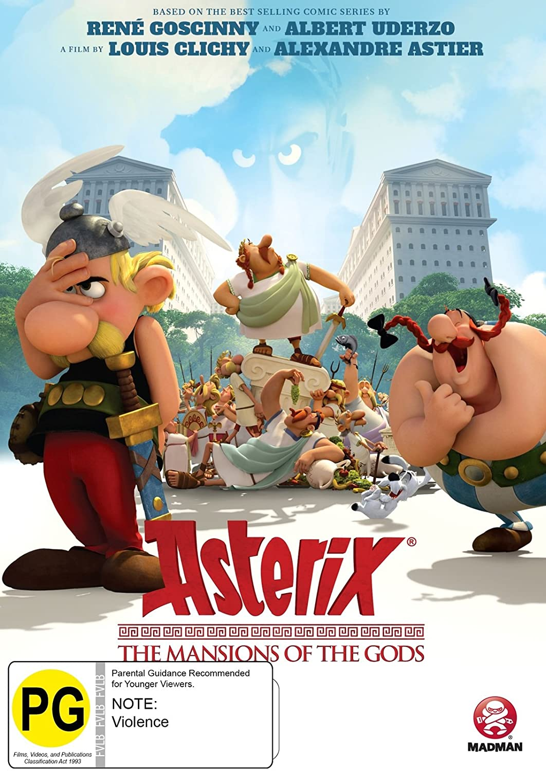 Asterix: The Mansions Of Gods