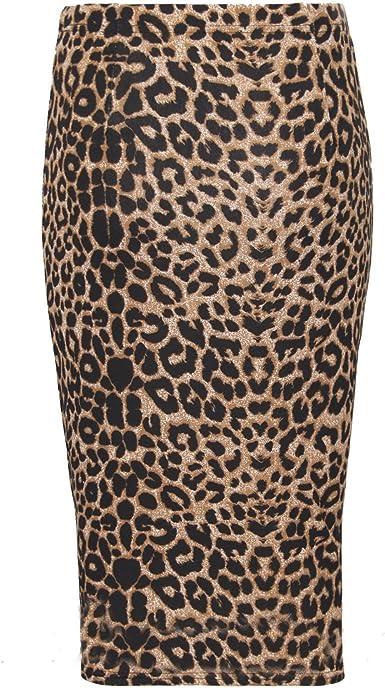 Purple Hanger Falda de Tubo de lápiz para Mujer, diseño de ...