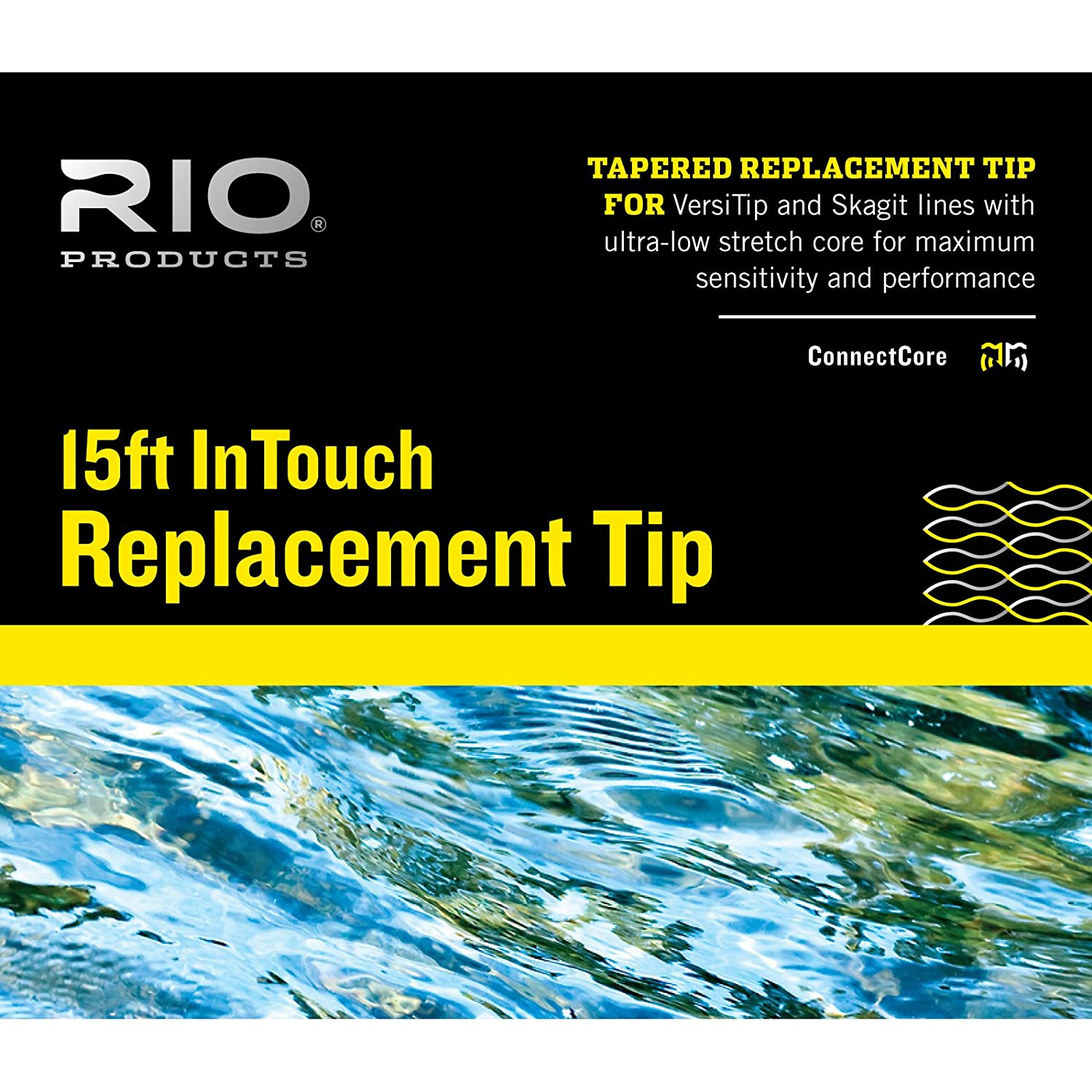 Rioのためのヒント10 ' InTouch Replacment Fly Lines B0160BU1CY #9 S8