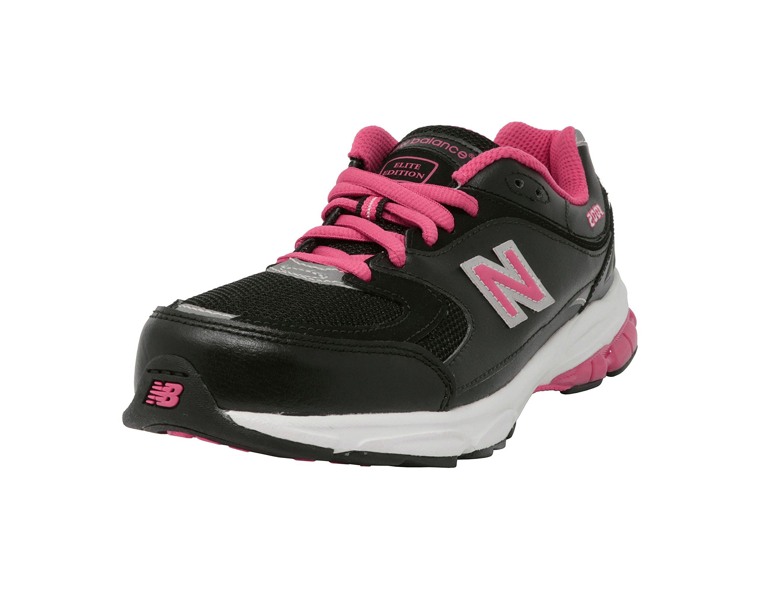 New Balance K2001 Womens Size 5.5 Black Leather Cross Training Shoes