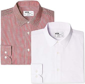 find Pack de 2 2 Pack Slim Shirt Camisa Hombre