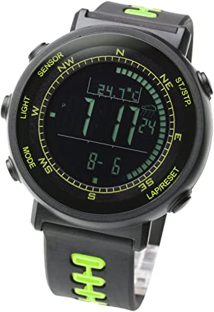 Amazon.com: [Lad Weather] Sensor de Swiss Running Cronógrafo ...