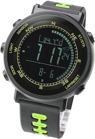 Amazon.com: [Lad Weather] Sensor de Swiss Running Cronógrafo ...