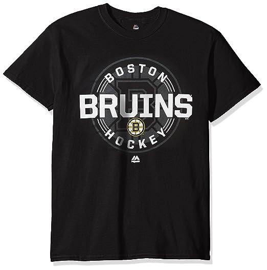 official photos 119db bdfc8 VF LSG NHL Boston Bruins Men s Clearing The Puck Program Basic Short Sleeve  Tee, Medium