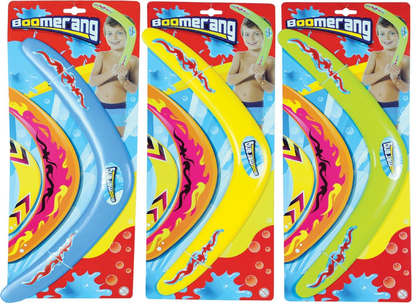 Globo Toys Globo - 36150 38 cm 3 Colour Summer Boomerang