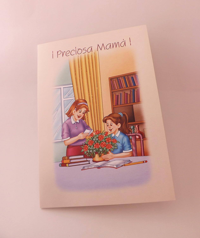 Amazon.com : Preciosa Mamá --- tarjeta -- Spanish Greeting ...