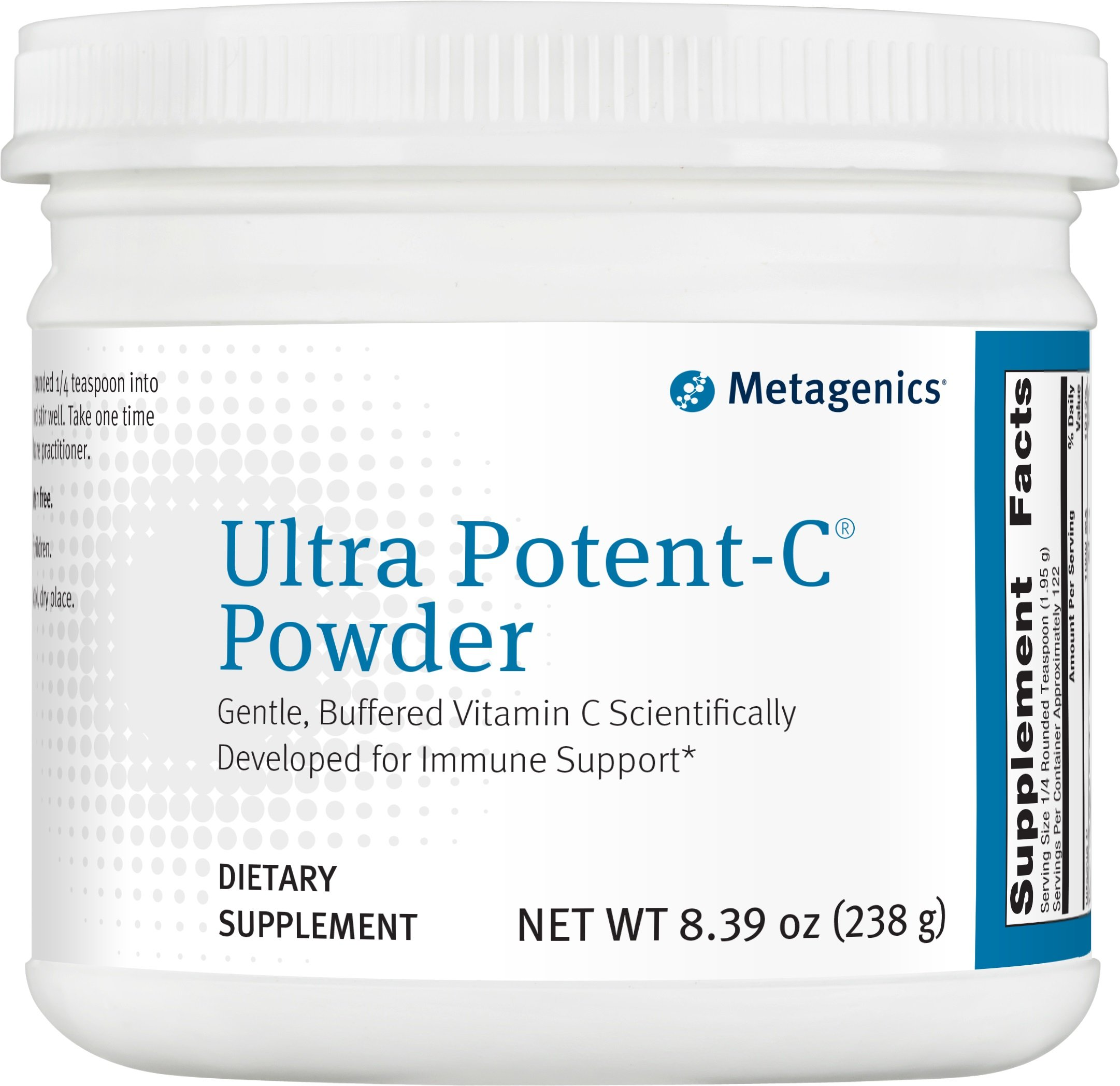 Metagenics Ultra Potent-C Powder, 8.39 Ounce