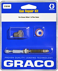 Graco 218143 Gun Repair Kit for Airless Silver Plus and Flex Paint Spray Guns
