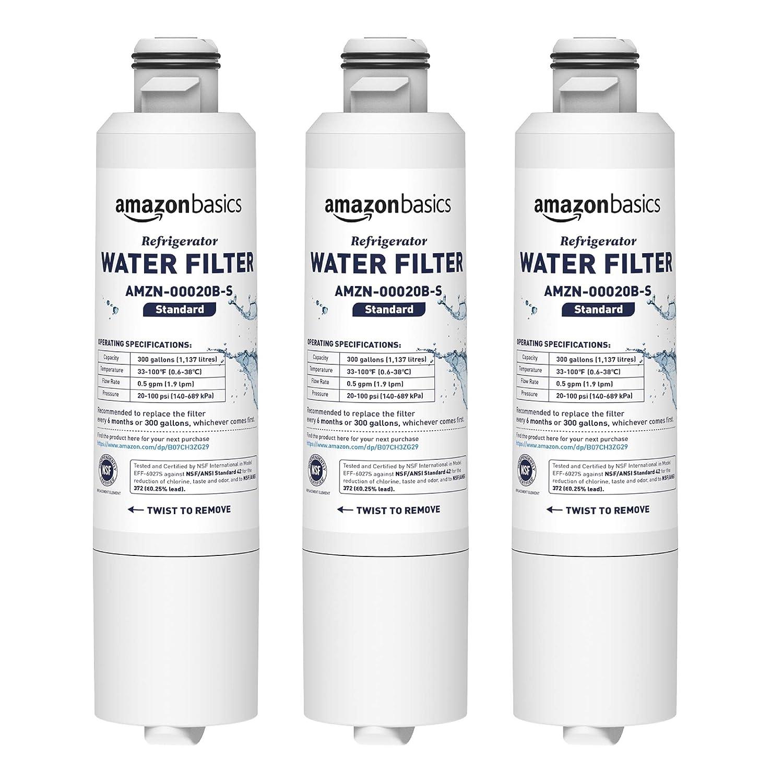 Basics Filtro de agua de repuesto para frigor/ífico Samsung DA29-00020B Filtraci/ón Avanzada