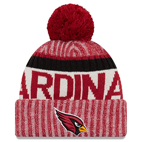 online store 6b081 58317 ... best new era mens arizona cardinals new era nfl 17 on field sport knit  bobble hat