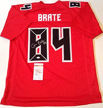outlet store ba2dc 55dc3 Cameron Brate Signed Jersey - Red Color Rush !!! - JSA ...