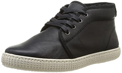 Unisex Adults Chukka Piel Hi-Top Slippers Victoria D8ymnwiYkm