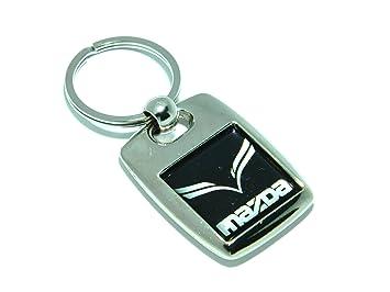 Mazda Heavy Metal bañado en plata llavero: Amazon.es: Coche ...