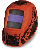 Hobart 770754 Impact Agent Orange Variable Auto-Dark Helmet