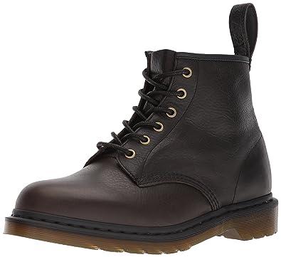 Buy Dr. Martens 101 Black Harvest Leather Fashion Boot, 3