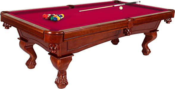Harvil 8-Foot Slate Pool Table - Bellagio. Includes On-Site Delivery, Professional Installation and Accessories